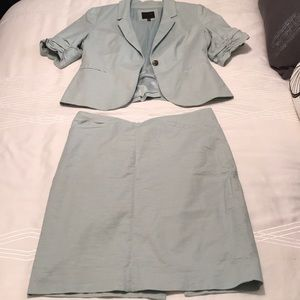 Lovely mint green suiting from The Limited